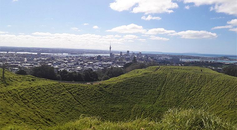 Maungawhau - View to the CBD and the north.