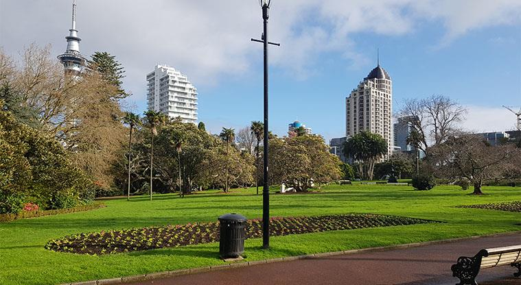 Albert Park - located in the centre of Auckland city.