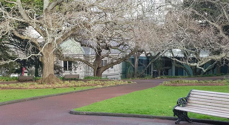 Albert Park - Auckland Art gallery