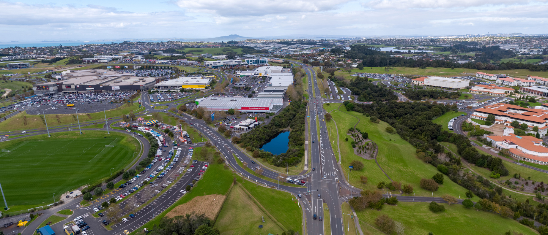 Massey University and Westfield Albany